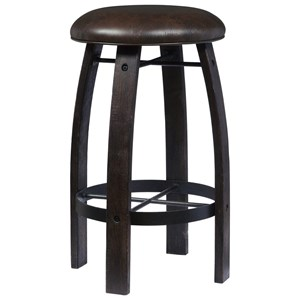 Barrelhouse Bar Stool