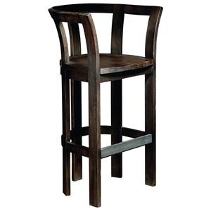 Barrel Bar Chair