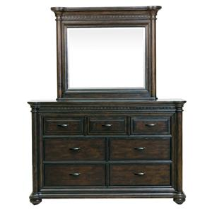 Samuel Lawrence Grand Manor Dresser & Mirror Set