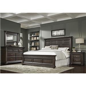 Samuel Lawrence Grand Manor King Bedroom Group