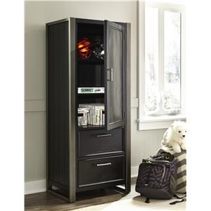 Morris Home Furnishings Granite Falls Granite Falls Door Wardrobe