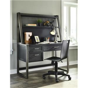 Morris Home Furnishings Granite Falls Granite Falls Desk with Hutch