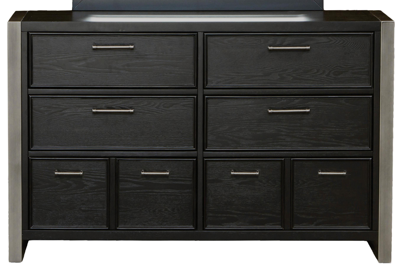 Morris Home Furnishings Granite Falls Granite Falls 8 Drawer Dresser - Item Number: 8942-410