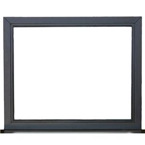 Samuel Lawrence Graphite Metal Landscape Mirror