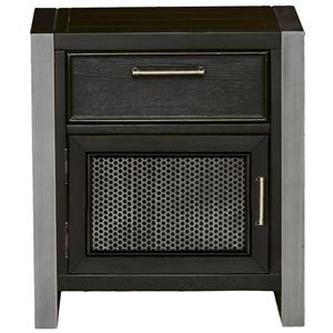 Samuel Lawrence Graphite Night Stand