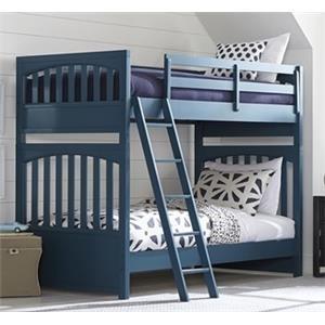 Morris Home Furnishings Hewitt Hewitt Twin Bunk Bed