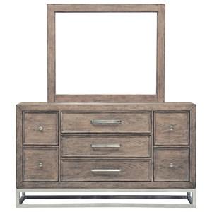 Samuel Lawrence Highland Park Dresser and Mirror Combo