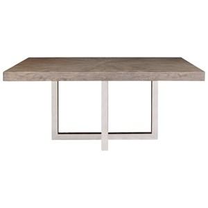 Samuel Lawrence Highland Park Chrome Base Dining Table