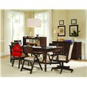 Samuel Lawrence Homework Executive Desk Chair w/ Casters - 8616-925