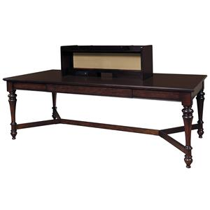 Samuel Lawrence Homework Table Workstation w/ Hutch
