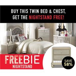 Lil South Beach Twin Bed Package w/ Freebie!