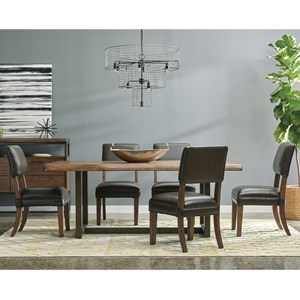 Samuel Lawrence Lincoln Park 6 Piece Table and Chair Set