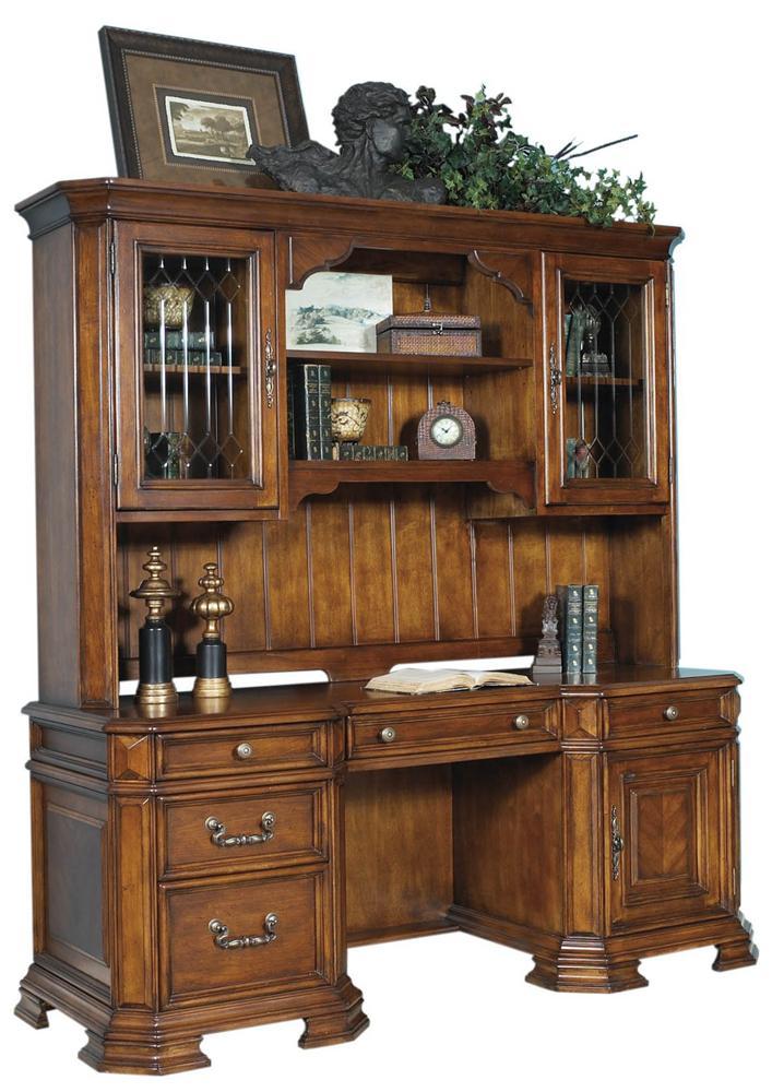 Samuel Lawrence Madison Computer Desk and Hutch  - Item Number: 4455-911+916