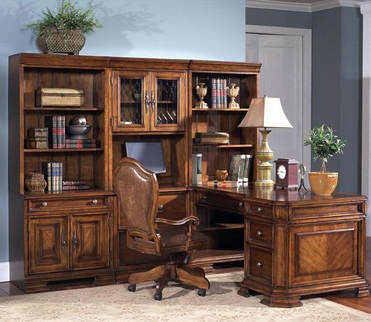 Samuel Lawrence Madison Executive Desk - Item Number: 4455-922B+T+924B+PR+926B+T