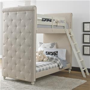 Kidz Gear Everly Twin Bunk Bed
