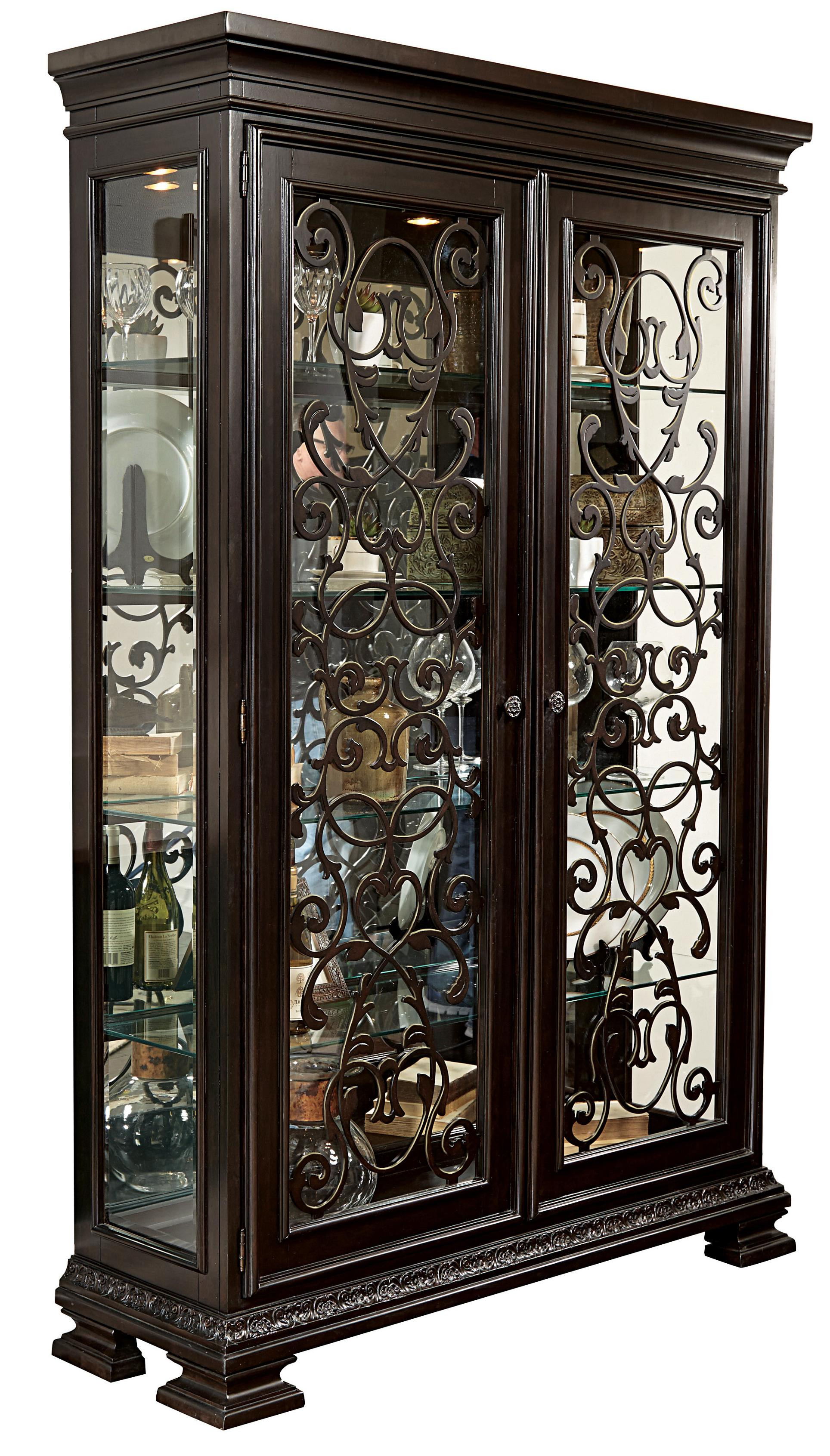 Morris Home Furnishings Monaco Monaco China Cabinet - Item Number: 8794-140