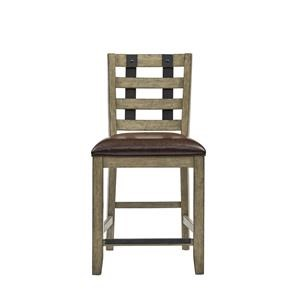 Morris Home Furnishings Oregon District Oregon District Metal Strap Barstool