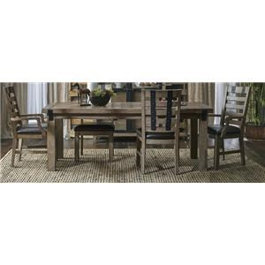 Morris Home Furnishings Oregon District Oregon District 5-Piece Dining Set
