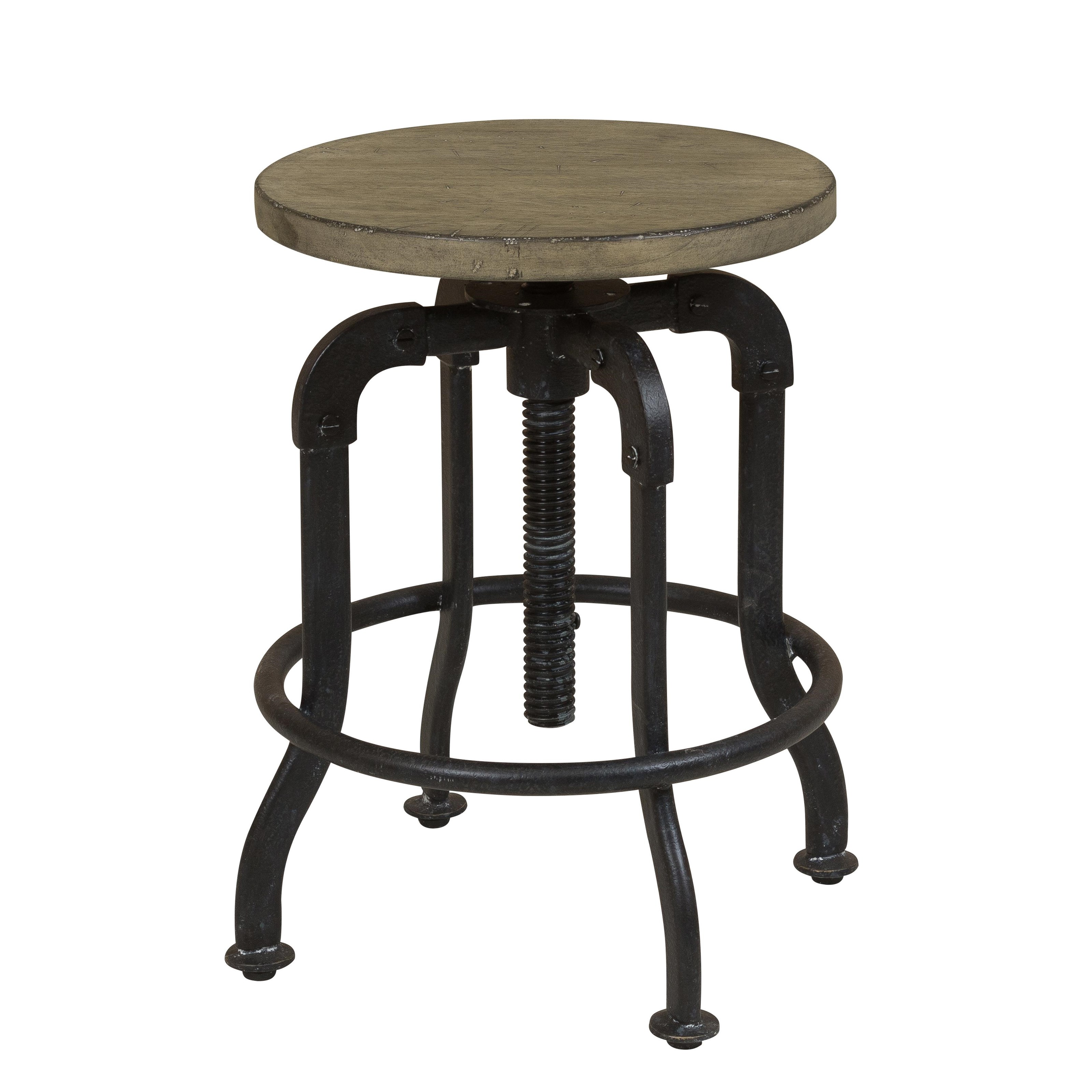 Morris Home Furnishings Oregon District Oregon District Adjustable Barstool - Item Number: 400247735