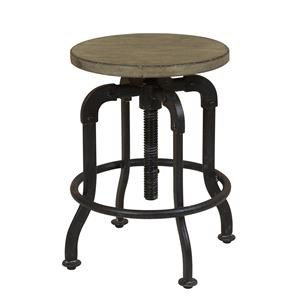 Morris Home Furnishings Oregon District Dalton Adjustable Barstool