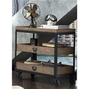 Morris Home Furnishings Oregon District Oregon District Accent Cart