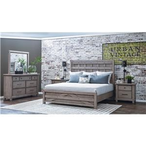 Samuel Lawrence Prospect Hill Queen 6-Piece Bedroom Group