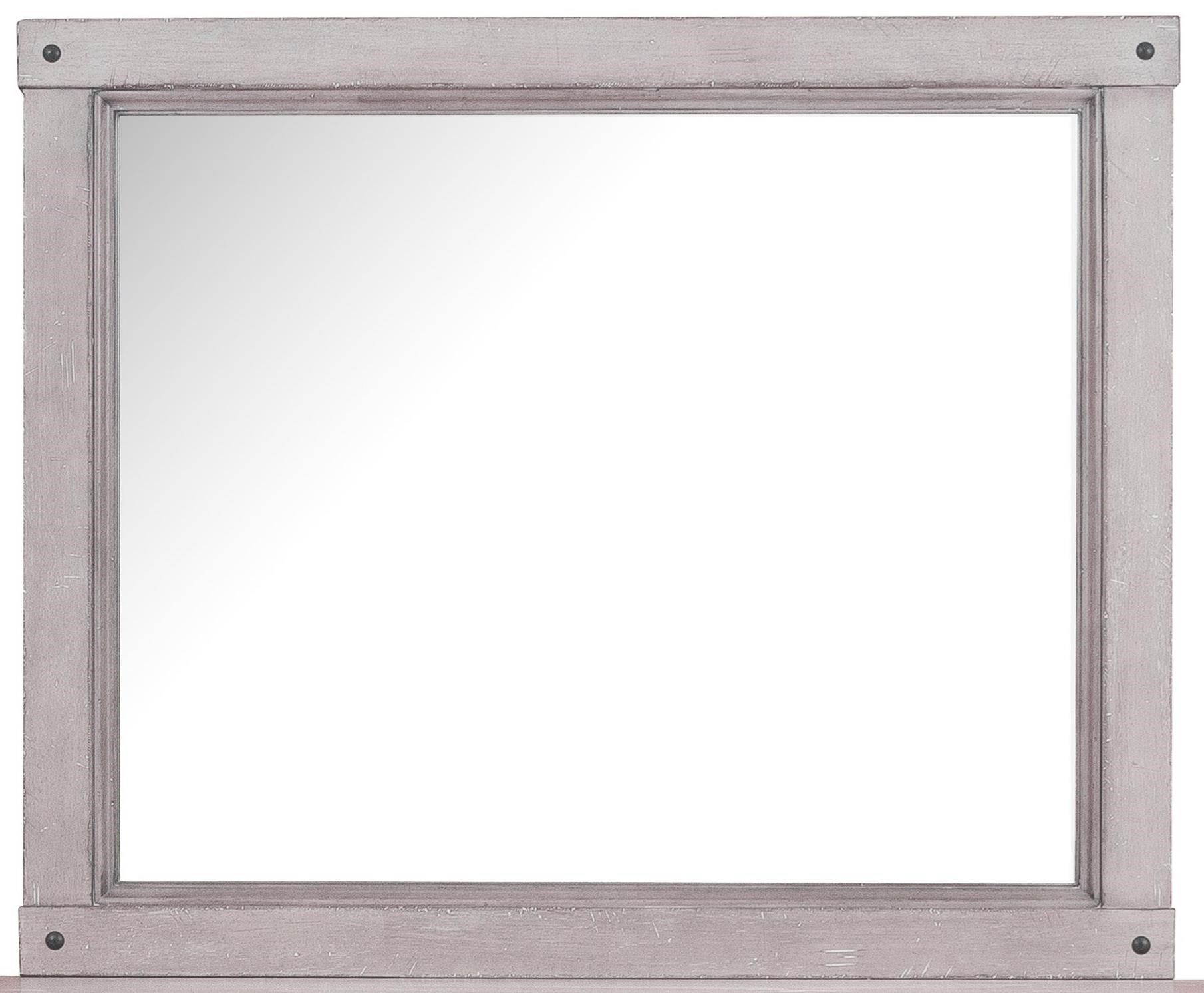 Samuel Lawrence Prospect Hill Beveled Mirror With Bolt