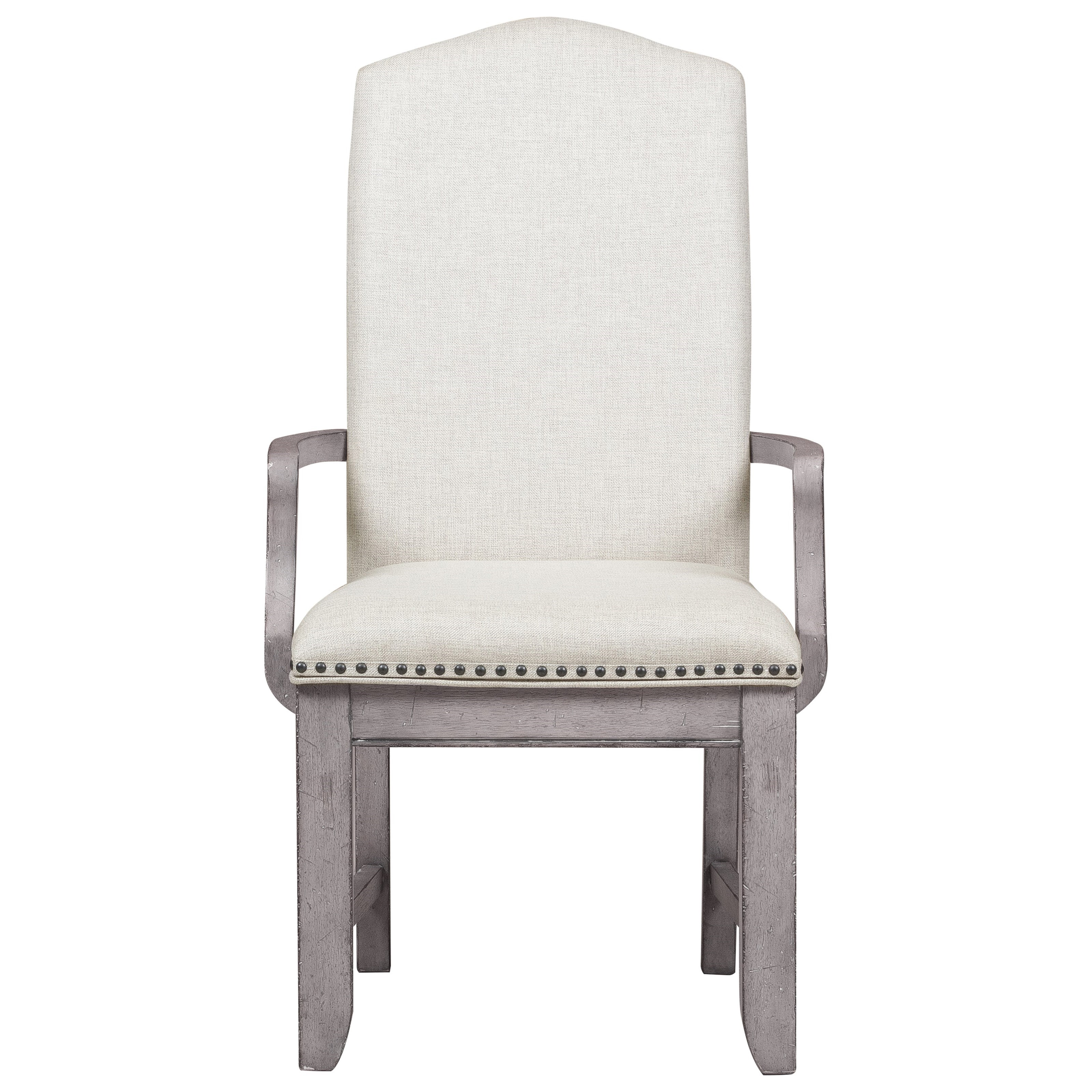 Samuel Lawrence Prospect Hill Upholstered Arm Chair With Nail Head Trim Adcock Furniture