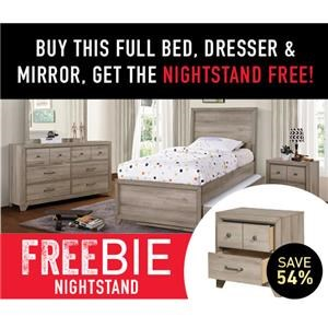 Ash Creek Full Bed Package with Freebie!