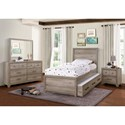 Samuel Lawrence River Creek Twin Bedroom Group - Item Number: S496 T Bedroom Group 1