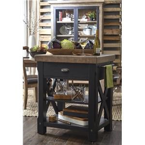 Morris Home Furnishings Riverside Riverside Kitchen Island