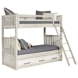 Riverwood Bunk Bed with Trundle by Samuel Lawrence