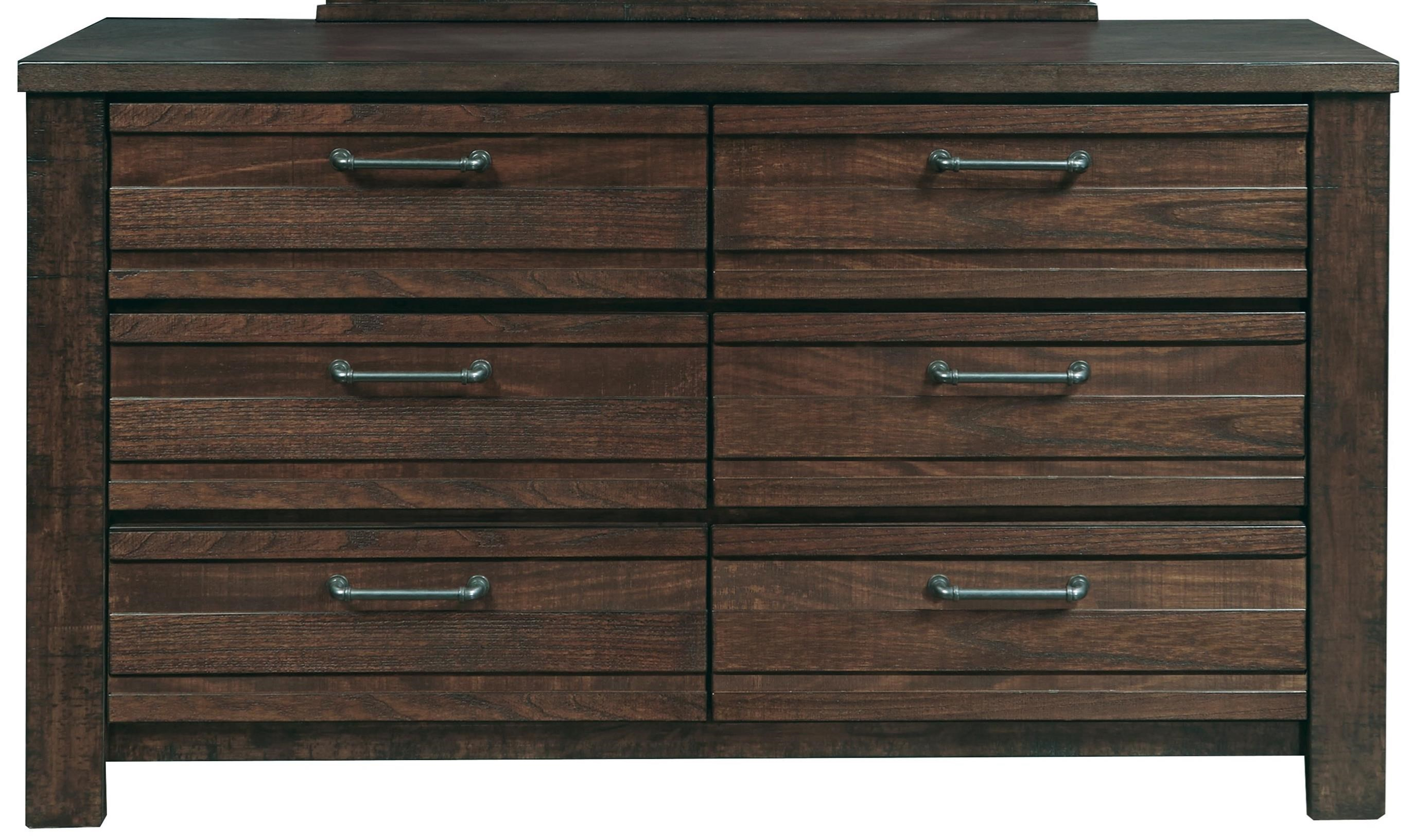 sides products six item aspenhome drawer paneled belfort number dresser with tildon