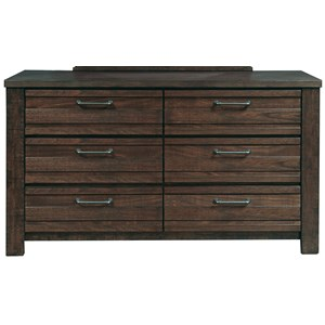 Morris Home Furnishings Rutherford Rutherford Drawer Dresser