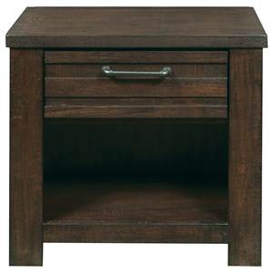 Morris Home Furnishings Rutherford Rutherford Nightstand