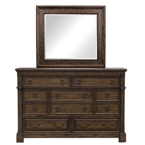 Samuel Lawrence Barcelona Drawer Dresser & Mirror