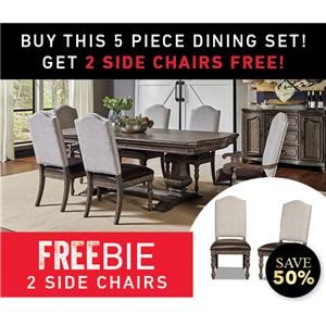 montecito Dining Set with Freebies!