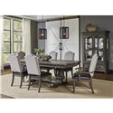 Morris Home Furnishings Montecito Mantecito 5 Piece Dining Set - Item Number: 986028063