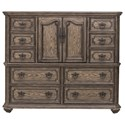 Samuel Lawrence Santa Barbara Master Chest - Item Number: S344-047A+B