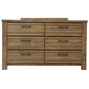 Rutherford Drawer Dresser