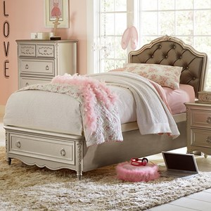 Twin Princess Bed