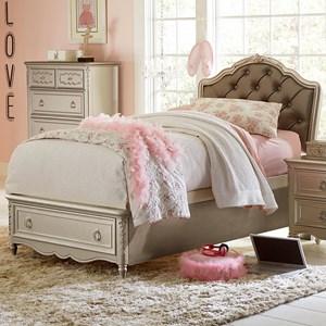 Twin Princess Bed