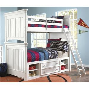 Morris Home Furnishings Shelbourne Shelbourne Twin Bunk Bed