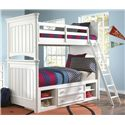 Morris Home Furnishings Shelbourne Shelbourne Twin Bunk Bed - Item Number: 461048457