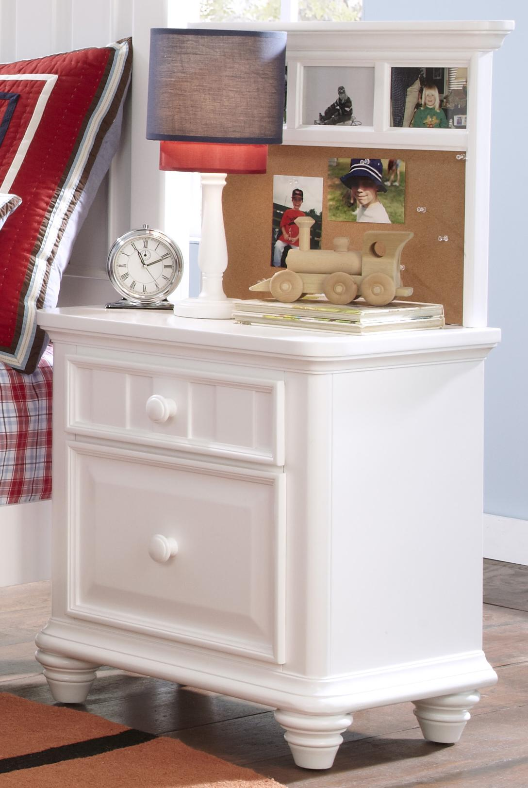 Morris Home Furnishings Shelbourne Shelbourne Nightstand with Back Panel - Item Number: 8466-450+451