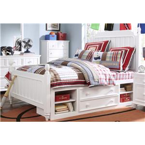 Kidz Gear Campbell Twin Bed with Underbed Storage