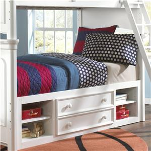 Kidz Gear Campbell Summertime Twin Storage Bunk Bed