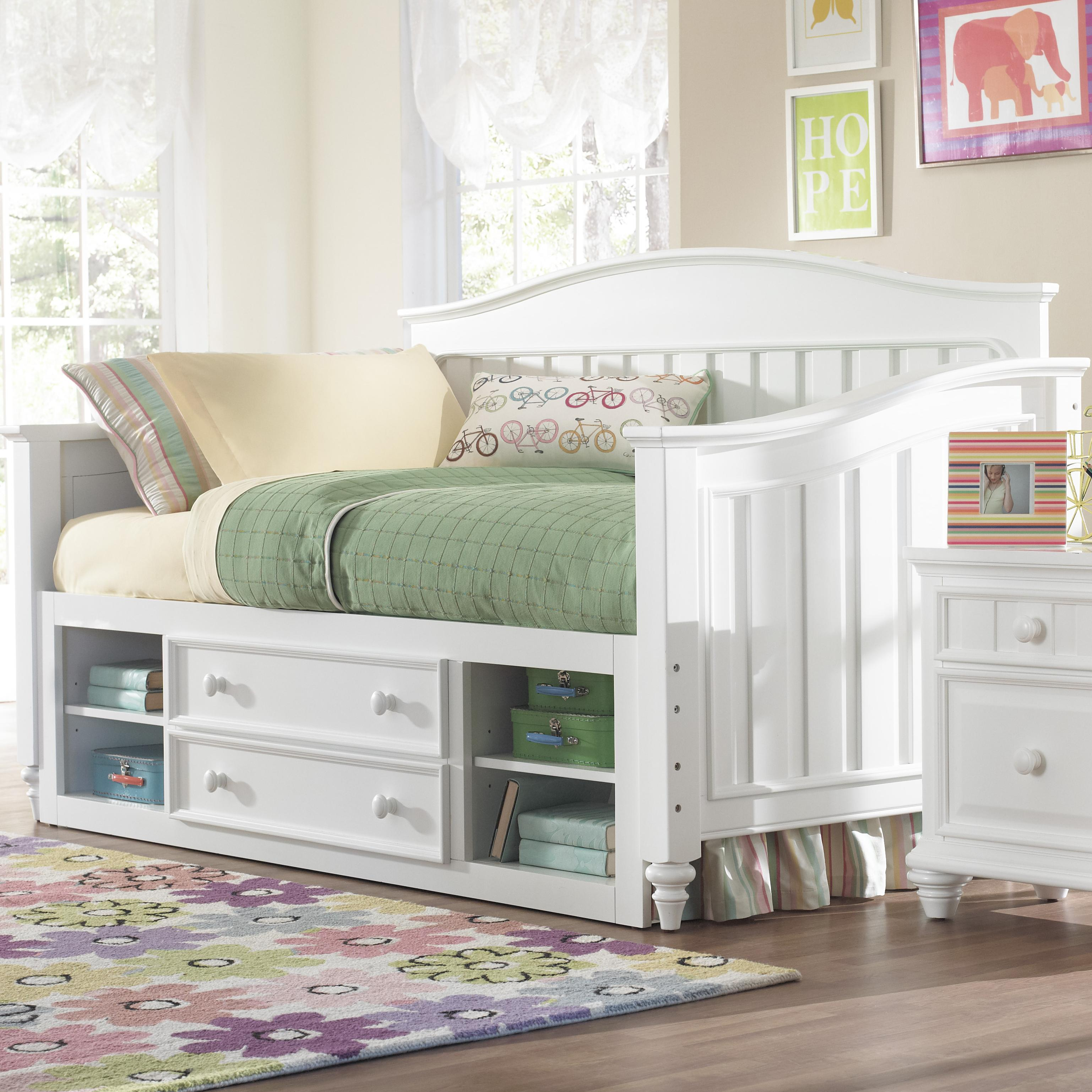 Kidz Gear Campbell Day Bed with Storage - Item Number: 8466-740+741+643