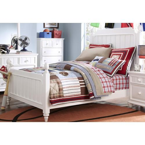 Kidz Gear Campbell Twin Low Post Bed - Item Number: PKG846641