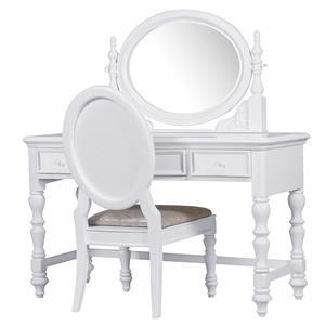 Morris Home Furnishings Sarasota Sarasota Vanity & Mirror Set